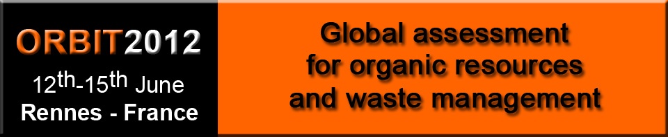 ORBIT Conference 2012: Global assessment for organic resources and waste management