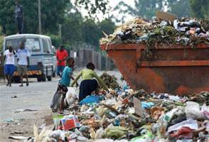 502 deaths related with poor waste management?