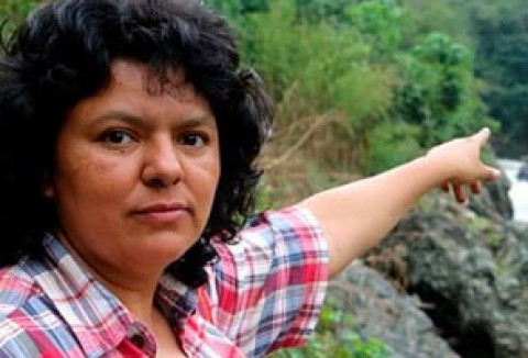 Berta Caceres + 116 environmental activists killed in one year…