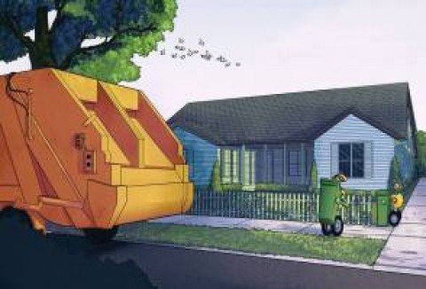 Drones & Robots for garbage collection integrated by Volvo