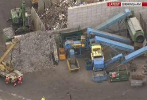Five men death toll at recycling centre!