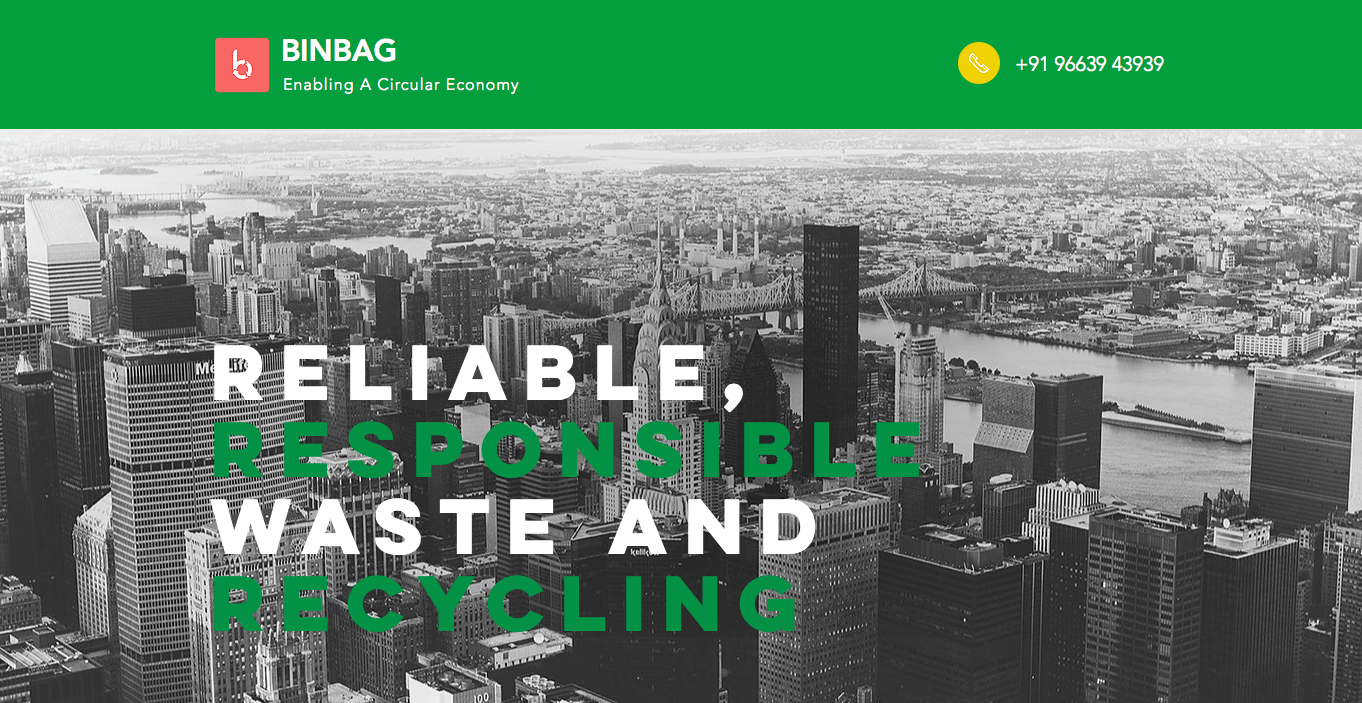 BINBAG: a network approach to waste & resource management