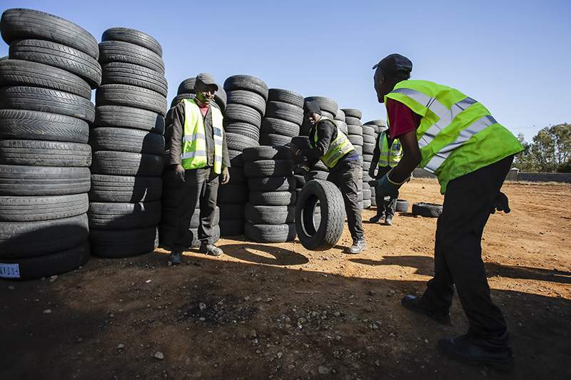 redisa, waste, recycling, wasteless future, south africa, EPR, cars, tyres
