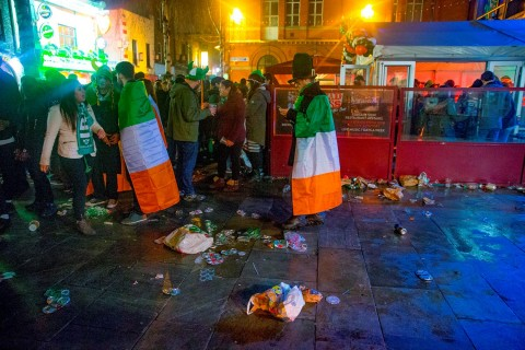 Deposit-return schemes can save St Paddy's Day – and the environment