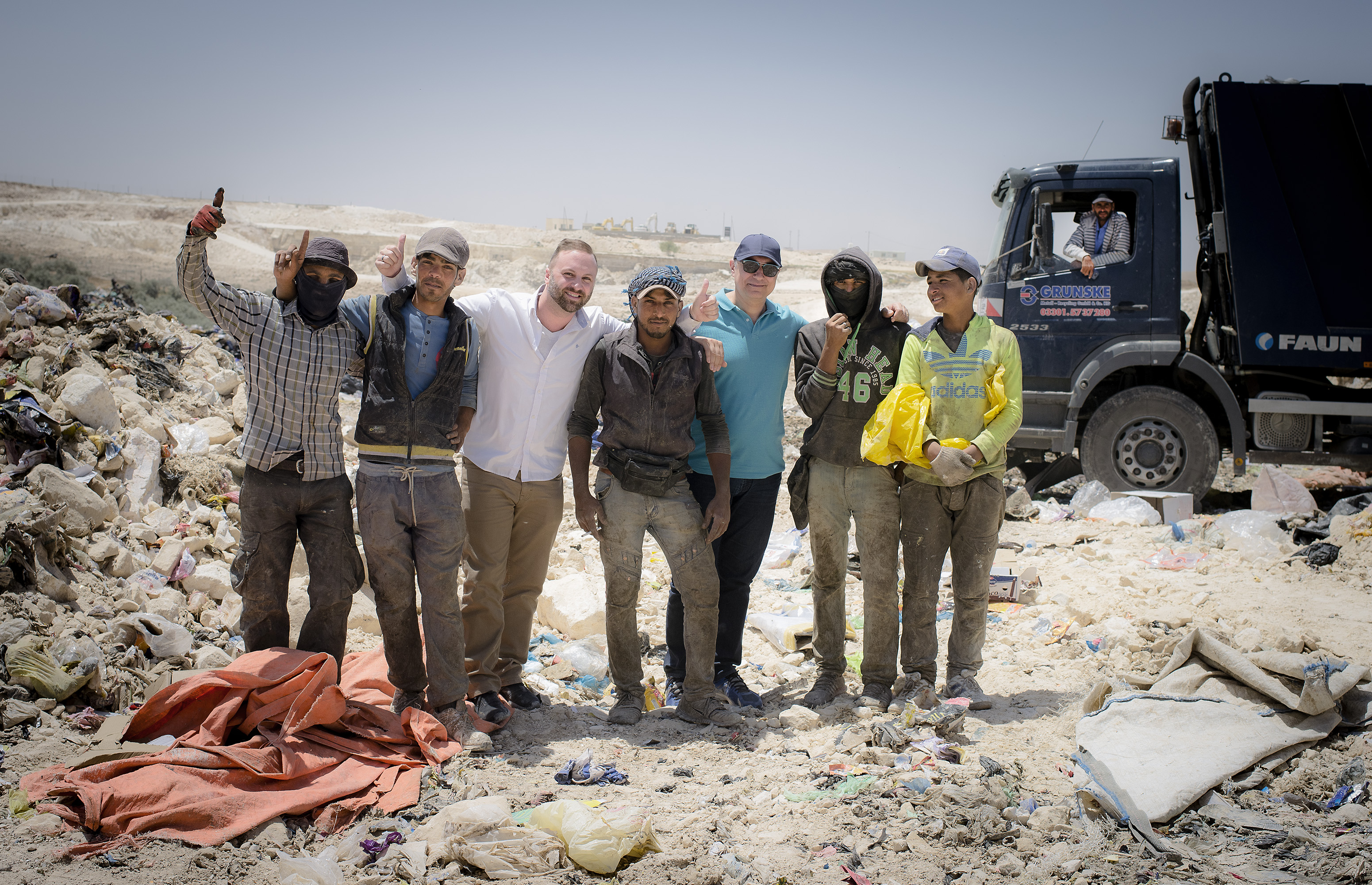 ISWA, dumpsites, informal recyclers, workers, waste management, waste, resources, waste pickers, human rights, people and waste, Jordan, Middle East