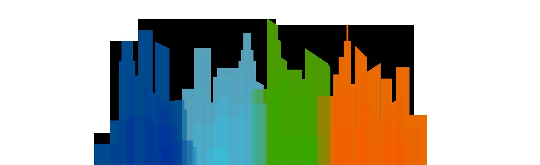 Unique content in unique format City Background