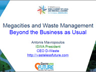 Megacities and waste management