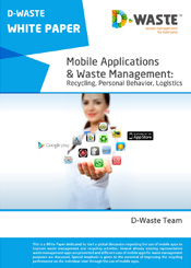 Mobile Applications & Waste Management: Recycling, Personal Behavior, Logistics