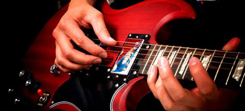 guitar strings, recycling,