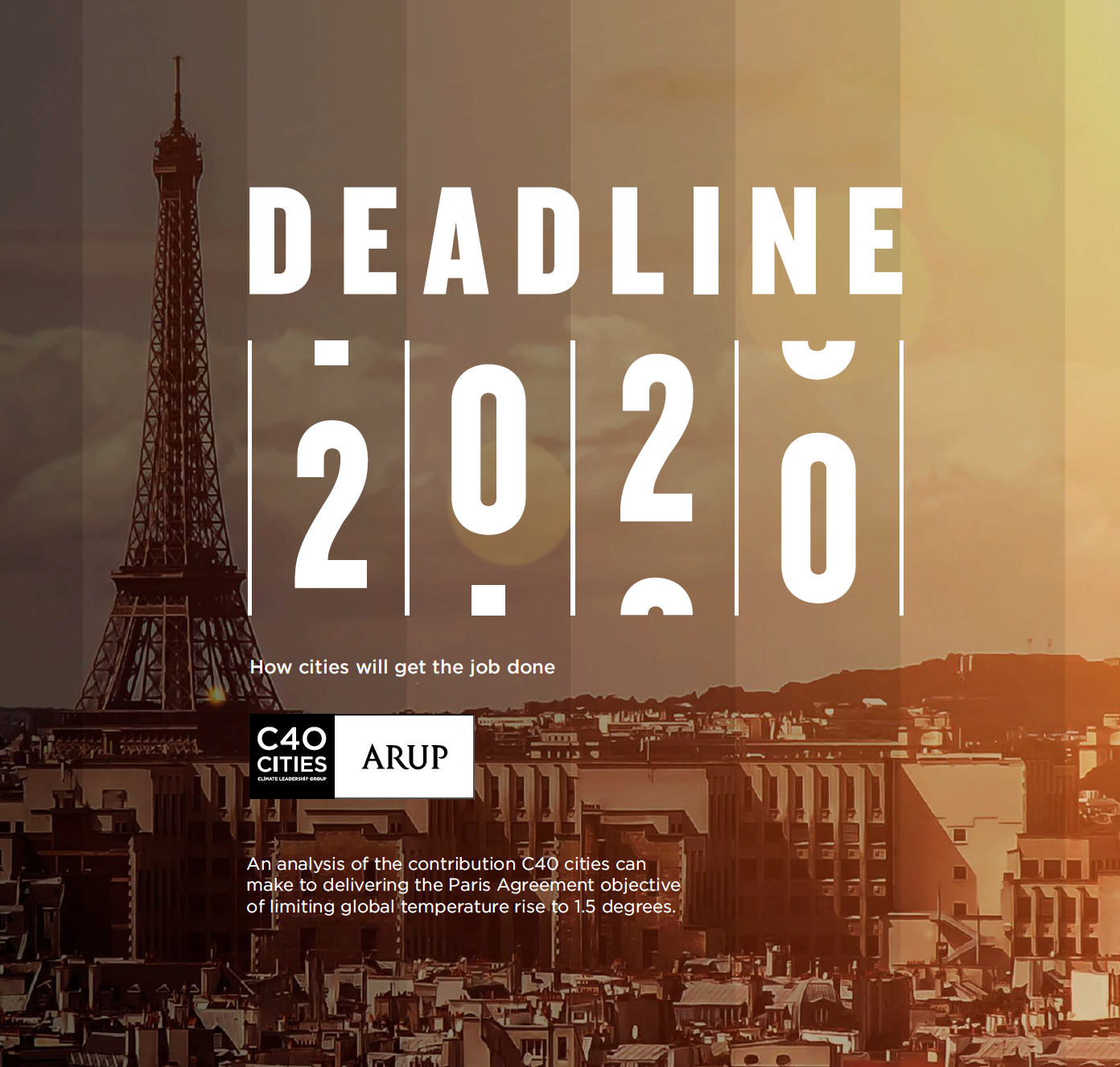 C40, deadlines 2020, ISWA, climate change, donald trump