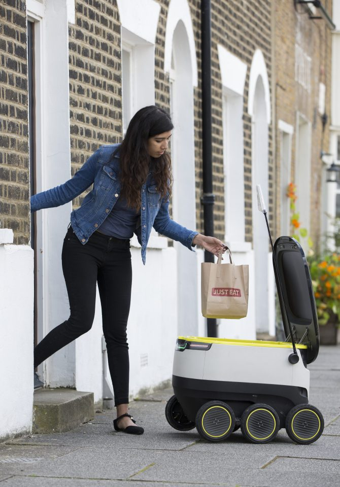 Delivery Robots, Door to Door, Starship, Wasteless Future, Jobless, Recycling, Waste Management
