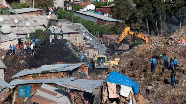 Koshe dumpsite, Addis Ababa, Ethiopia, death toll, ISWA, close the dumpsites, health emergency