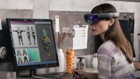 Augmented Reality redefines working  and workspaces