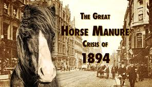 Horse manure crisis, Fourth Industrial Revolution, Waste, Waste Management, wasteless Future, circular economy, recycling, history, lessons learnt, industrial revolutions, resources, transition, circularities, innovation, Henry Ford, assembly line, cars