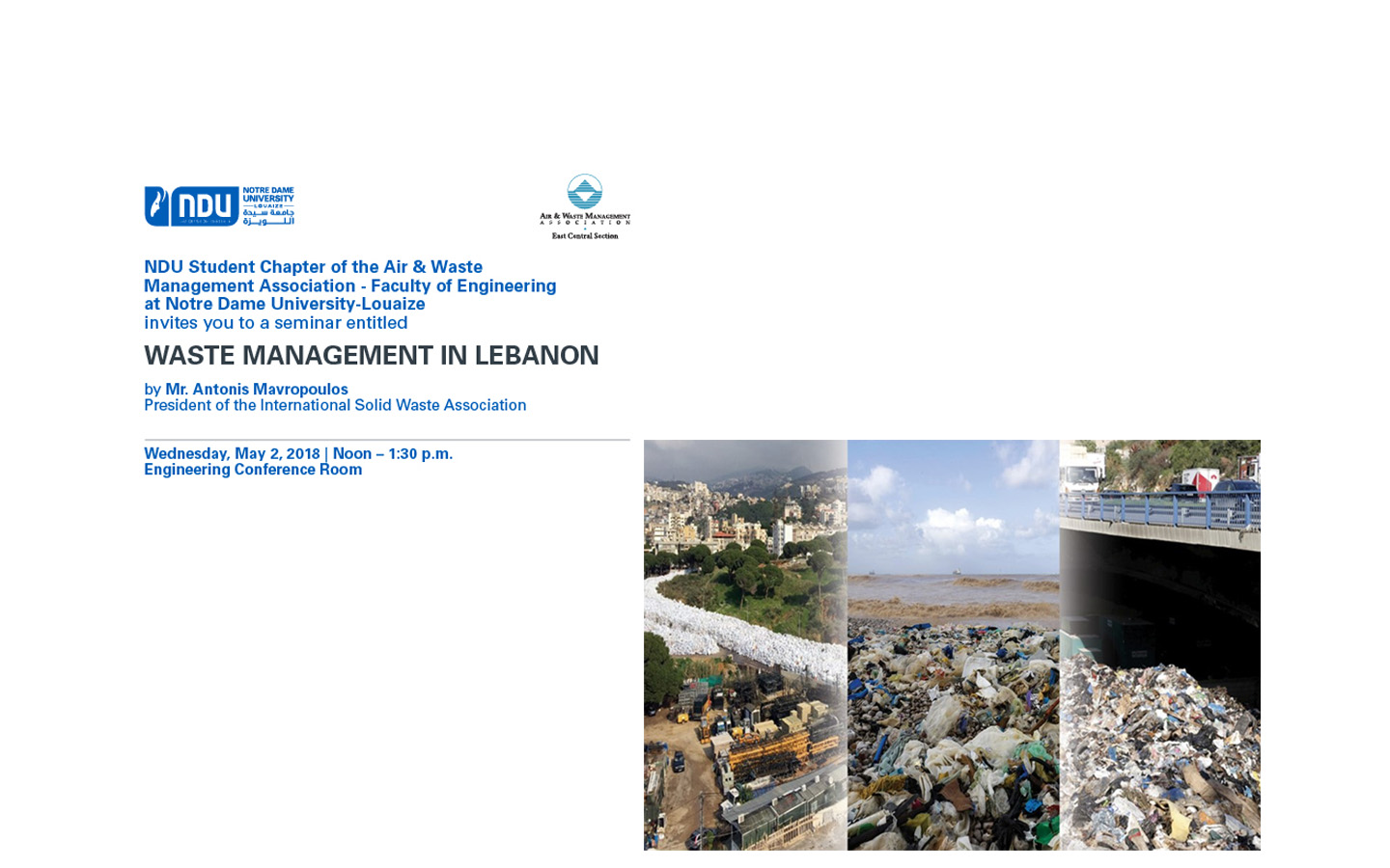 Waste Management in Lebanon