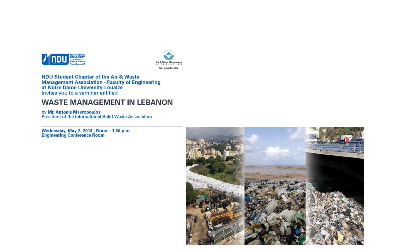 Waste Management in Lebanon