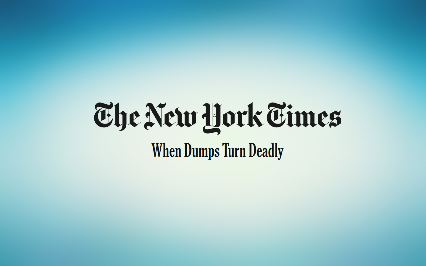 New york times Antonis Mavropoulos
