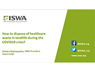 Healthcare waste disposal - developing countries
